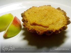 Корзиночки с яблочным суфле