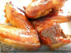 Куриные крылышки - Медовые