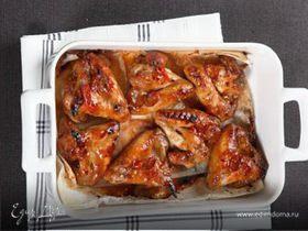 Острые куриные крылышки в азиатском соусе