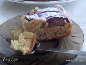 Сливовый пирог с хересом.