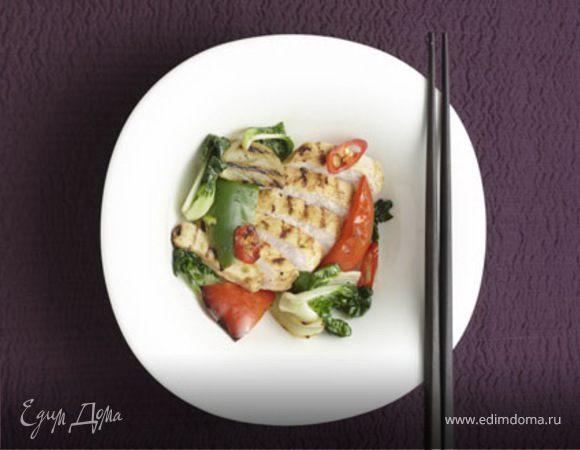 Цыпленок с лаймом и специями
