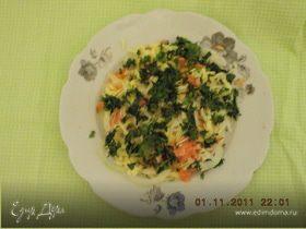 Мой вечерний салат