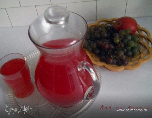 Напиток и сок из калины (или других ягод)