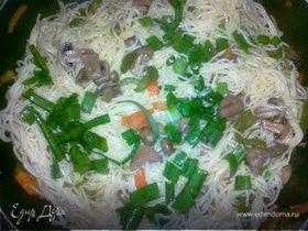 Свинина с лапшой - Pork Lo Mein