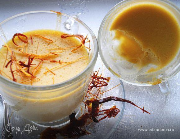 Pots de creme au caramel (Карамельные кремовые горшочки).