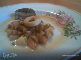 Салат из варёных сухофруктов