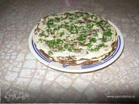 """Торт печеночный """"Сюрприз"""""""