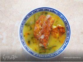 Гороховый суп с копчеными ребрышками - для гурманов (не для РД)