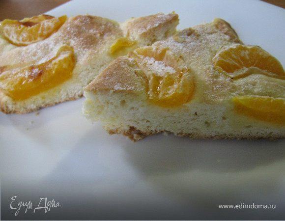 Мандариновый пирог.