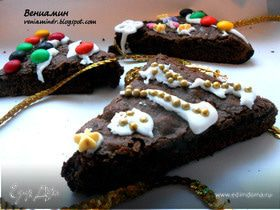 Tescoma. Christmas tree brownies