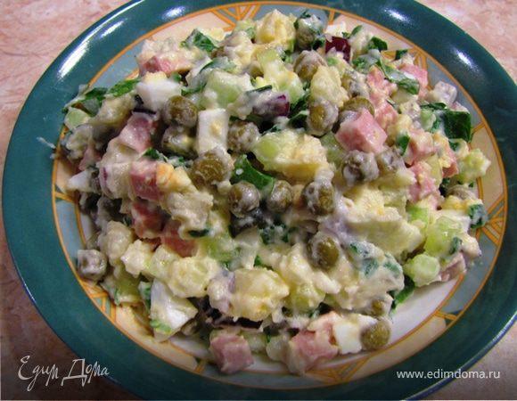 Салат оливье домашний рецепт