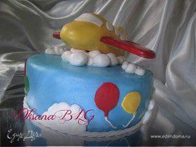 """Торт """"Самолетик"""""""