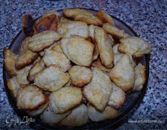 Твороженное печенье