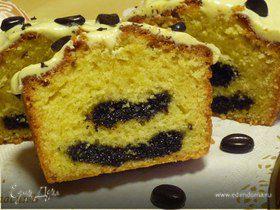 Кофейный пирог с маковой начинкой. Tescoma.