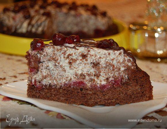 """Торт """"Подарок себе в день рождения!"""" :)"""