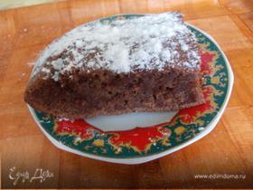 Бананово-шоколадный пирог