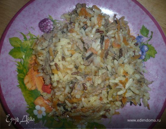 Плов 4 риса с фаршем из индейки