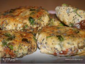 Сырники с зеленым луком и укропом