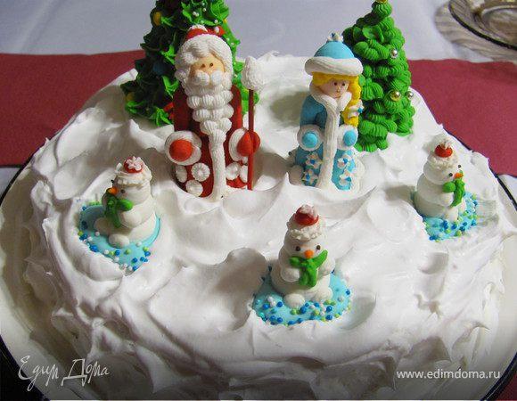 """Торт """"С Новым годом"""""""