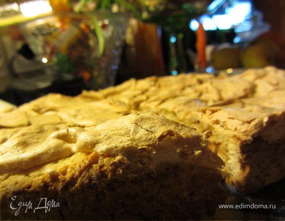 Песочный пирог с конфитюром
