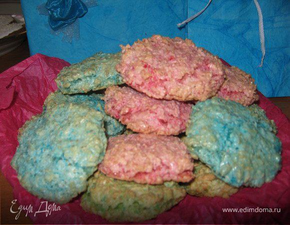 Печенье с кокосом.