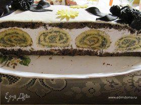 """Торт """"Черная роза"""""""