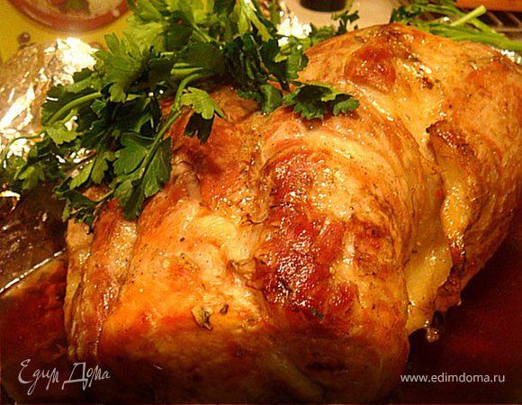 Свинина в коричневом соусе