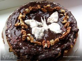 Пирог с грецкими орехами