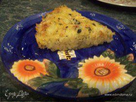 Рисовый пирог с творогом
