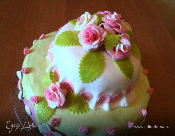 """Торт «Цветы для Риты"""""""