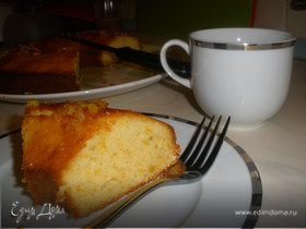 Кекс с апельсиновым конфитюром от Дж.Оливера
