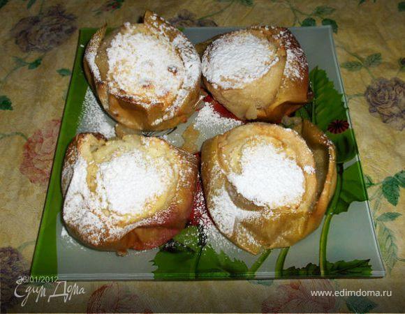 Яблочный десерт от Ирины Браим