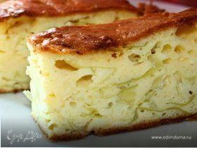 Капустный пирог (со свежей капустой)