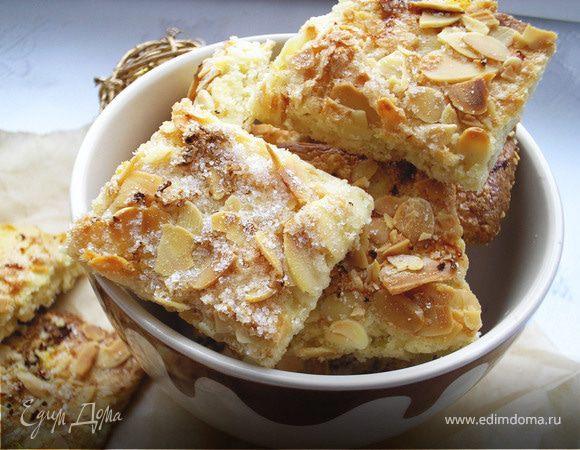 Печенье миндально-лимонное