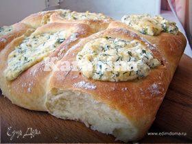 Булочки с сыром и творогом