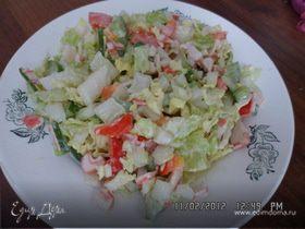 Свежий салатик в зимний день