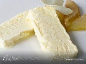 Парфе с медом и карамелизированными грушами
