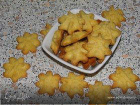 Печенье Лимонные звезды
