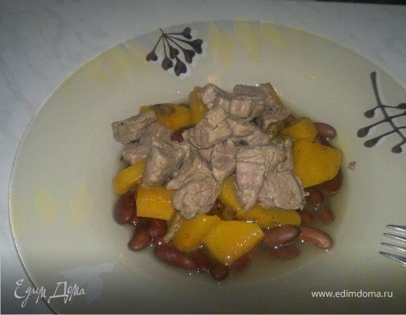 Похлебка с бобами и говядиной самый простой вариант