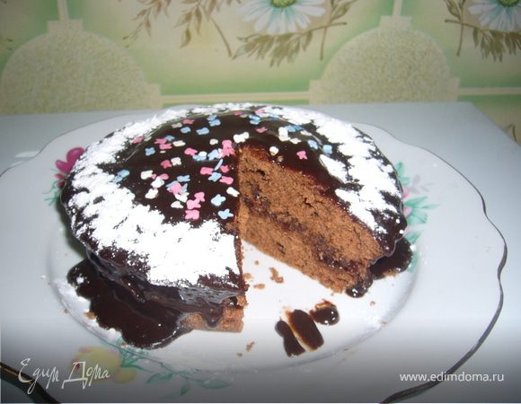 Пирог в микроволновке