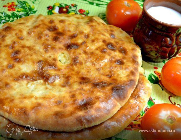 Осетинские пироги «Картофджын» – пирог с картошкой .