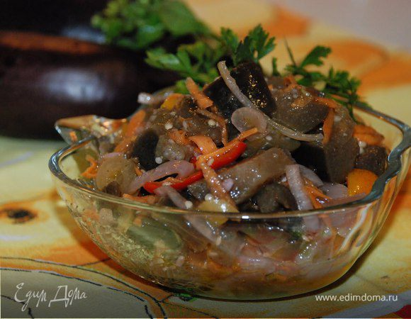 Баклажаны маринованные по-корейски рецепт