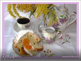 Кекс с мармеладом
