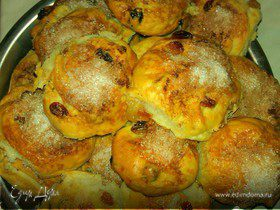 Нежные булочки к завтраку