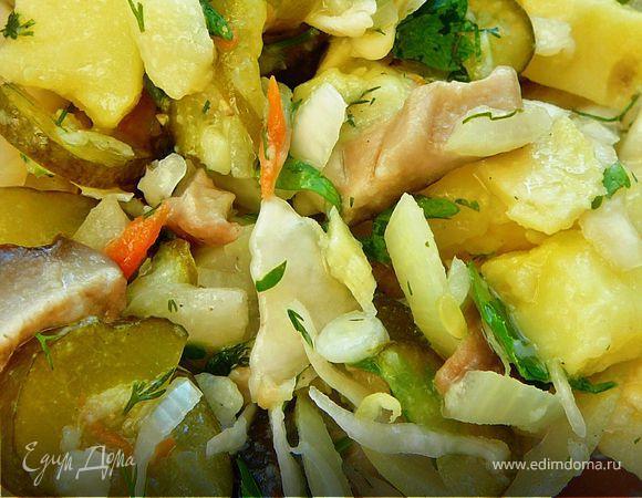 Деревенский салат (Постный)