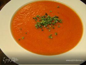 Тыквенно-томатный суп-пюре