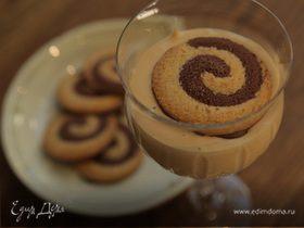 Кофейный десерт из маскарпоне