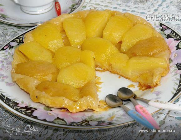 «Яблочный тарт татен» от Юлии Высоцкой