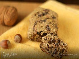 Батон с черносливом и орехами