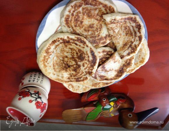 Хотток - корейские лепешки со сладкой начинкой